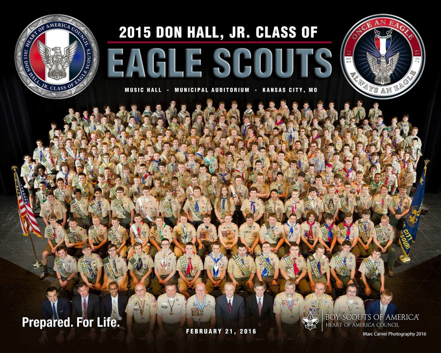 2015 Eagle Class Photo
