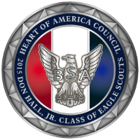 2015 Don Hall, JR. Class of Eagle Scouts Commemorative Coin